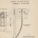 <!--:da-->Kort over Andholm Batteri, 1922.<!--:-->
