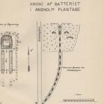 <!--:da-->Kort over Andholm Batteri, 1922.<!--:--> <!--:de-->Karte der Batterie Andholm, 1922.<!--:--> <!--:en-->Plan of Andholm Battery, 1922.<!--:-->