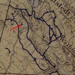 <!--:da-->Tysk skyttegravskort over Sikringsstilling Nord ved Lille Vedbøl.<!--:--> <!--:de-->Deutsche Schützengrabenkarte der Sicherungsstellung Nord Klein Weibüll.<!--:--> <!--:en-->German map of trenches along Defence Line North at Lille Vedbøl.<!--:-->