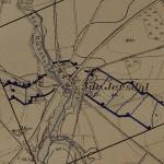 <!--:da-->Tysk skyttegravskort over Sikringsstilling Nord ved Ndr. Jersdal.<!--:--> <!--:de-->Deutsche Schützengrabenkarte der Sicherungsstellung Nord bei Niederjersdal.<!--:--> <!--:en-->German map of trenches along Defence Line North near Ndr. Jersdal.<!--:-->
