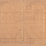 <!--:da-->Plantegning af flyhangaren, 1920.<!--:-->