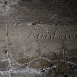 <!--:da-->Indskrift, Lille Vedbøl flankeringsbunker.<!--:--> <!--:de-->Inschrift, Flankenbunker Klein Weibüll.<!--:--> <!--:en-->Inscription, Lille Vedbøl flanking bunker.<!--:-->