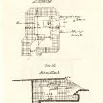 <!--:da-->Planskitse af mg-flankeringsbunker i lav konstruktion.<!--:--> <!--:de-->Planskizze von MG-Flankenbunker in niedriger Konstruktion<!--:--> <!--:en-->Sketch of a low-profile machine gun flanking bunker. <!--:-->