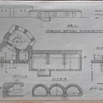 <!--:da-->Plantegning af Årøsund batteriet, 1922.<!--:--> <!--:de-->Planzeichnung der Aarösund Batterie, 1922.<!--:--> <!--:en-->Plan drawing of the Årøsund battery, 1922.<!--:-->